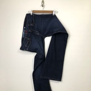 Women's Guess Foxy Flare Dark Wash Jeans Size: 31